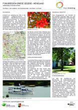 Poster Fokusregion Griese Gegend – Elbe – Wendland