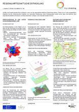 Poster: Regionalwirtschaftliche Entwicklung